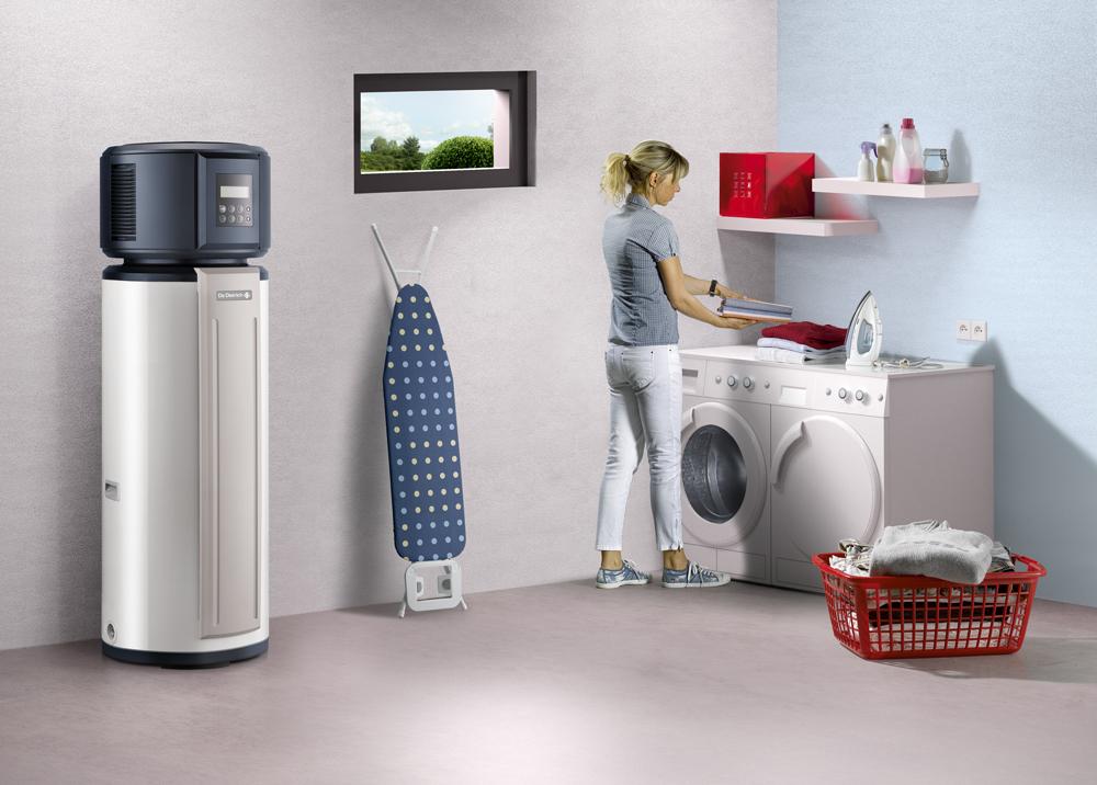 le chauffe eau thermodynamique kaliko essentiel de dietrich. Black Bedroom Furniture Sets. Home Design Ideas