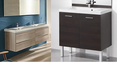 Meuble salle de bain comment bien les choisir - Meuble salle de bain pied ...