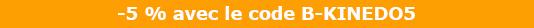 Code promo Kinedo 5%