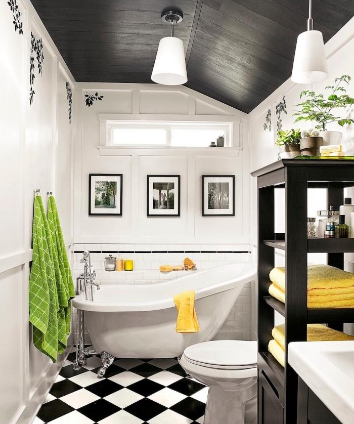 Décoration murale salle de bain design