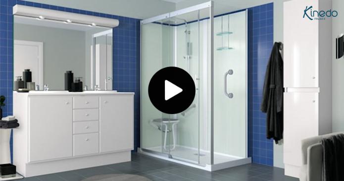 Kinemagic votre cabine de douche Kinedo à installer