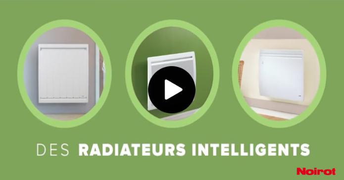 Présentation radiateur connecté système smart ecocontrol Noirot