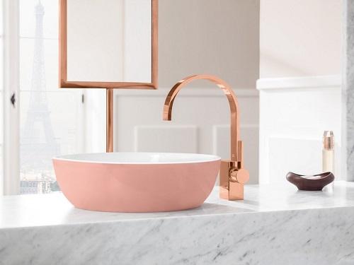 Vasque à poser rose Villeroy et Boch Artis