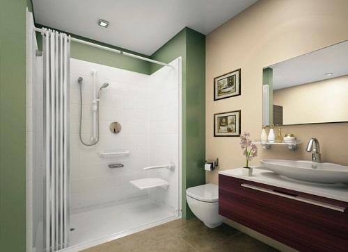 Aménager une salle de bain pmr