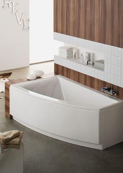 Tablier de baignoire asymétrique