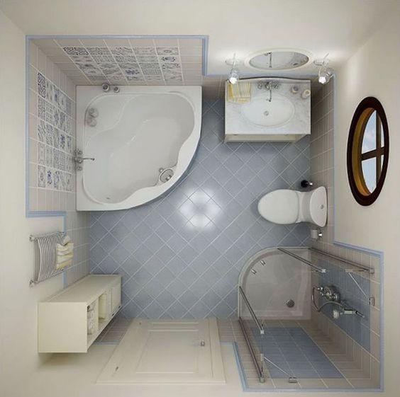 Baignoire d angle petite salle de bain