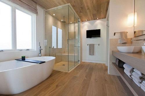Poser du stratifié dans une salle de bain : la solution ...