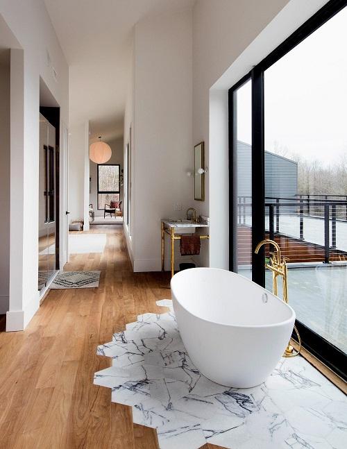 Déco d\'une salle de bain avec baignoire : Exit la cabine de ...