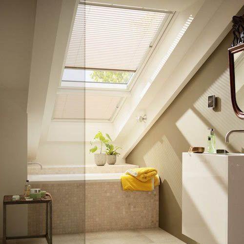 Mettre baignoire sous fenetre de toit