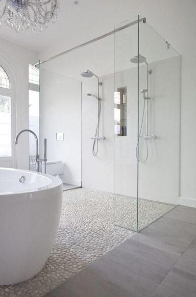 Galets pour receveur douche italienne