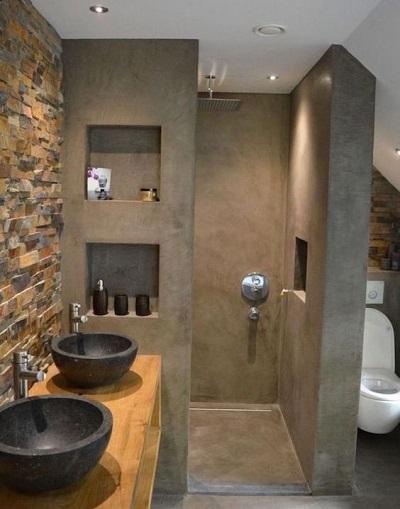 Combien coute salle de bain avec douche italienne