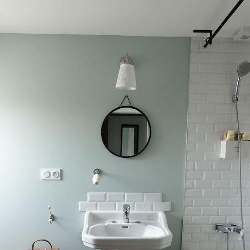 Couleur peinture petite salle de bain