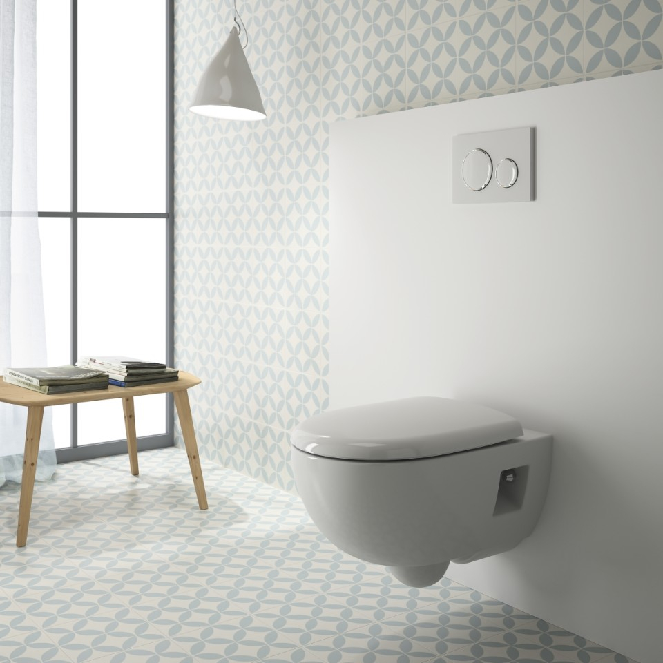 Wc Suspendu 4 Pieds avantage d un wc suspendu dans une salle de bain