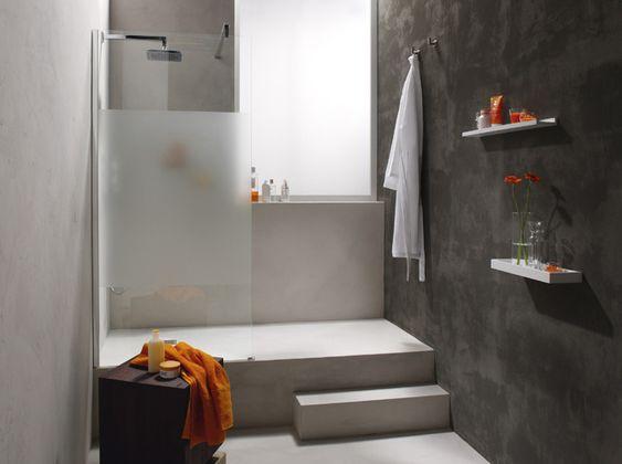 Faire douche italienne sur marche