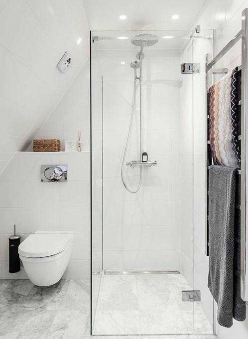 Salle de bain avec douche et wc suspendu : Nos idées déco ...