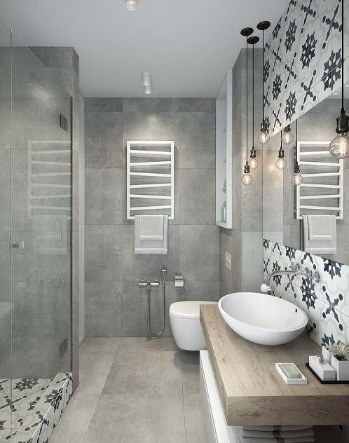 Jolie déco d\'une salle de bain de luxe : de la baignoire au ...