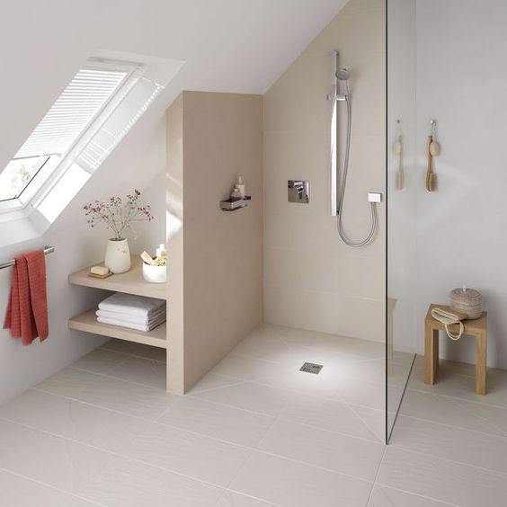 Faire salle de bain sous les combles