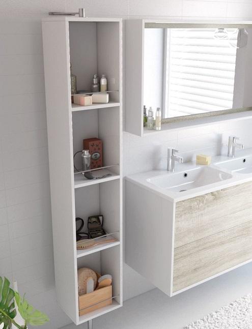 Meuble de salle de bain gain de place : Armoire de toilette ...