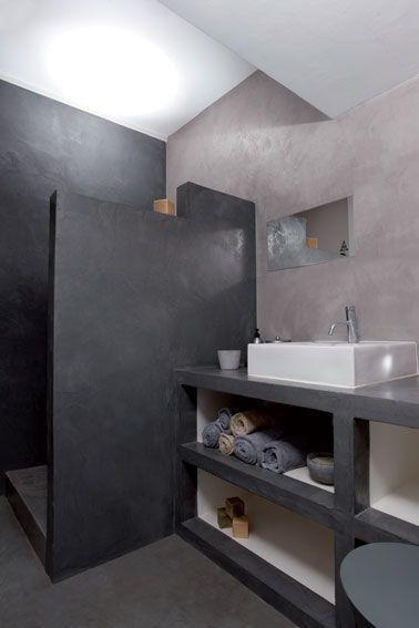 Faire muret dans une petite salle de bain