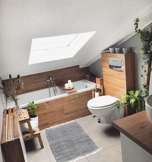 baignoire sous marsarde