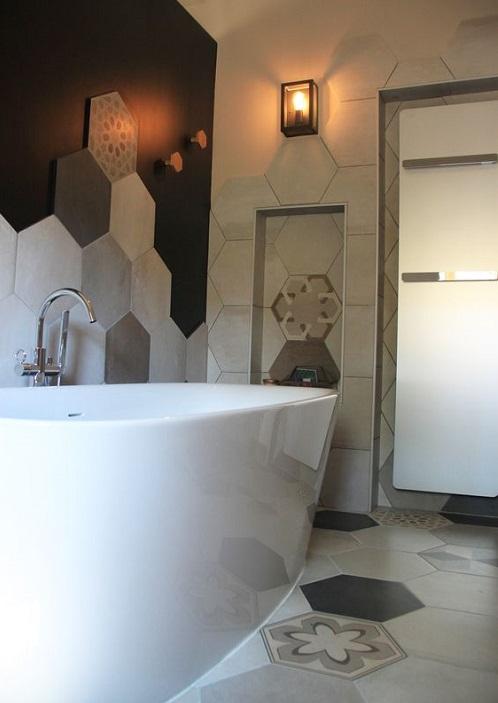 Spot lumineux cocooning salle de bain