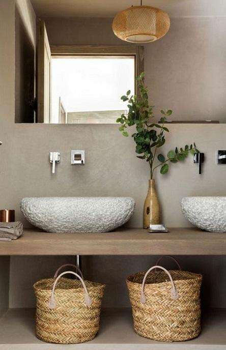 Idées de rangement pour salle de bain