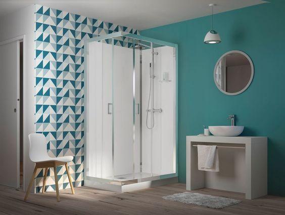 Mettre cabine de douche dans salle de bain