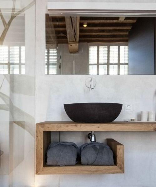 Modèle meuble salle de bain moderne