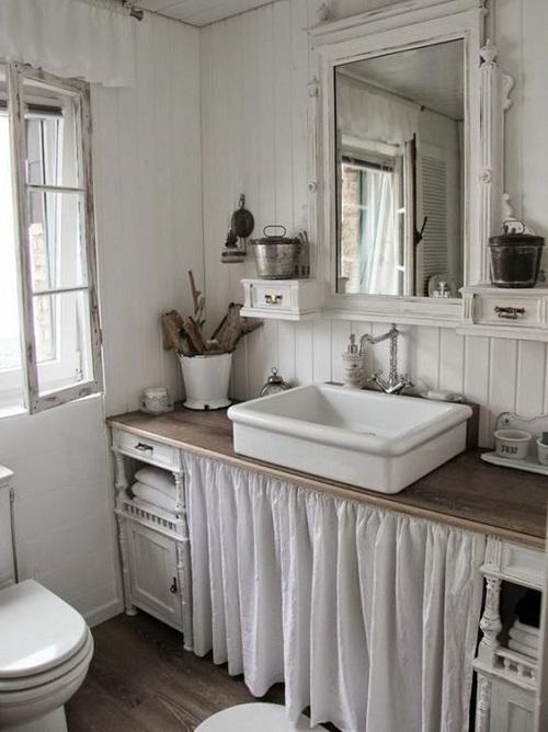 Meuble de salle de bain campgane