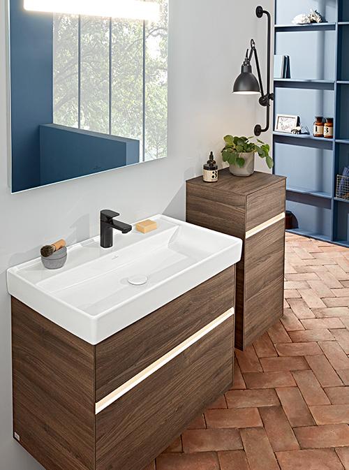 Meuble salle de bain collaro Villeroy et boch