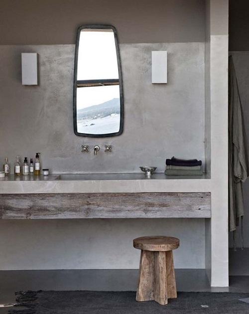 Meuble de salle de bain contemporaine