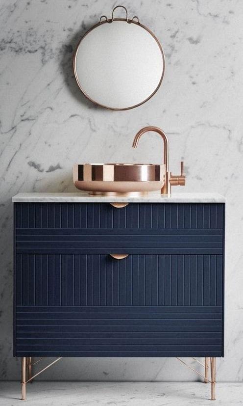 Meuble de salle de bain design