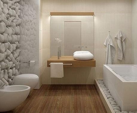 Meuble salle de bain style japonaise