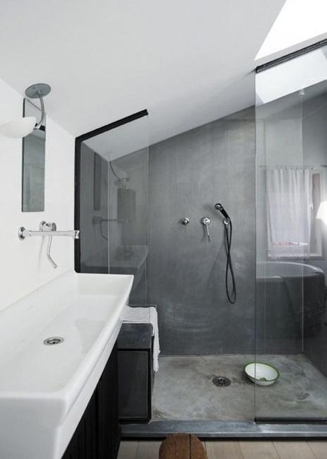 Meuble salle de bain sous combles