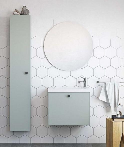 Mobilier rangement petite salle de bain