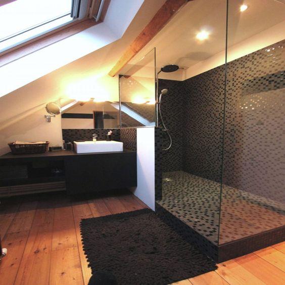 Mosaique receveur à carreler pour douche italienne