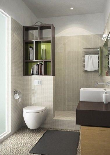 Muret pour separer wc et douche