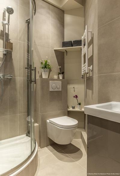 Normes pour le wc dans la salle de bain