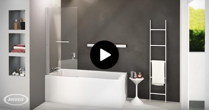 Découvrez en video le pare baignoire jacuzzi relevable