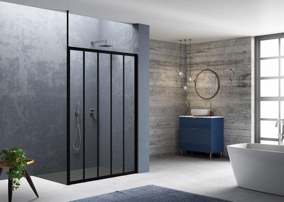Paroi style atelier salle de bain industrielle