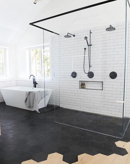 Parquet ou carrelage salle de bain