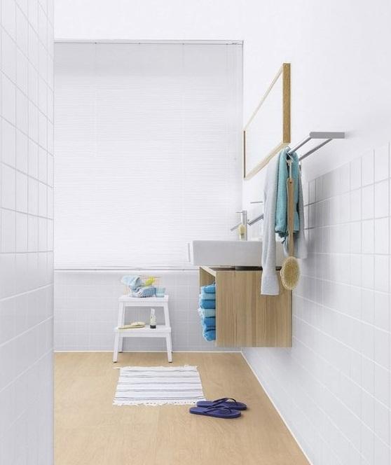 Mettre parquet PVC dans salle de bain