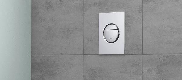 Plaque de commande wc suspendu Grohe Nova Cosmopolitan
