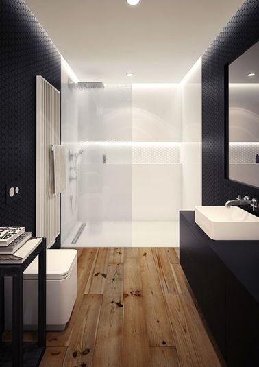 Mettre du parquet flottant dans salle de bain