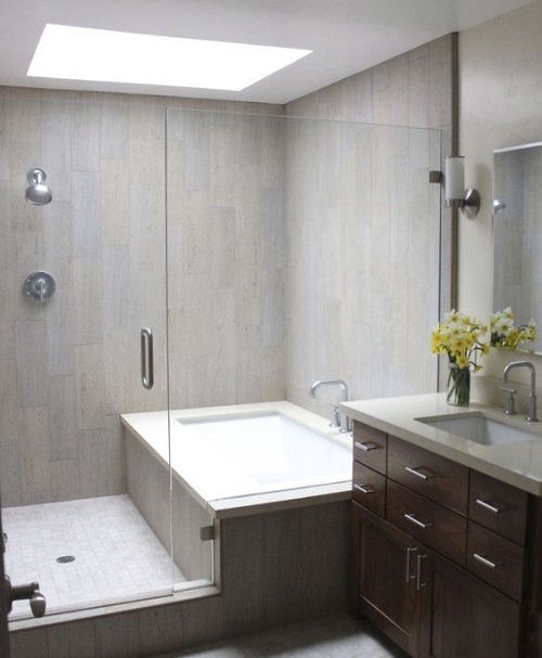 Puit de lumiere salle de bain