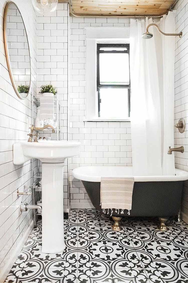 Deco De Salle De Bain Carrelage comment carreler une salle de bain jusqu'au plafond