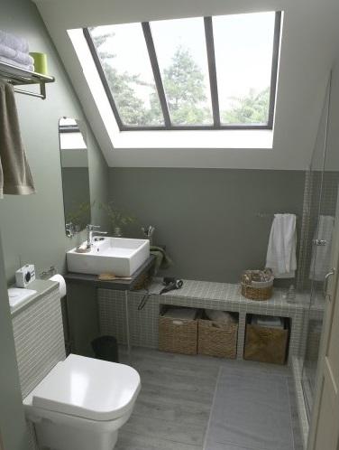 Aménager une petite salle de bain avec douche à l\'italienne ...