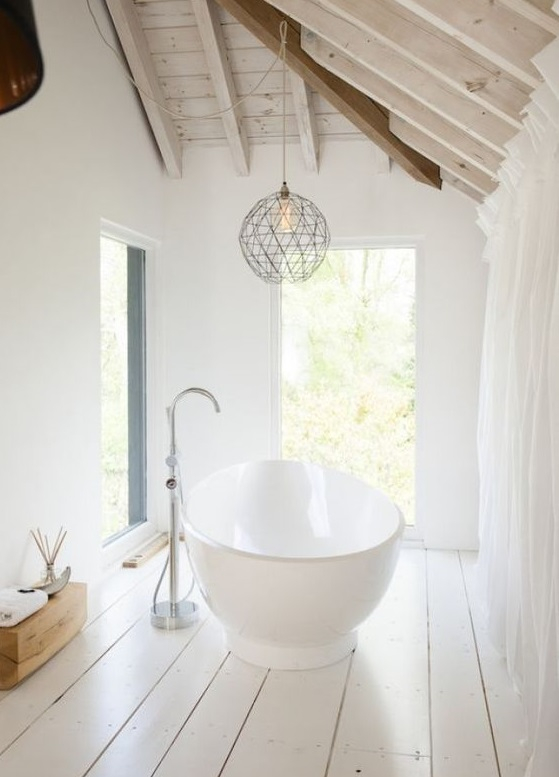 Comment faire une salle de bain sur un plancher en bois ? Un ...