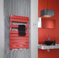radiateur seche serviettes eau chaude pour chauffage central