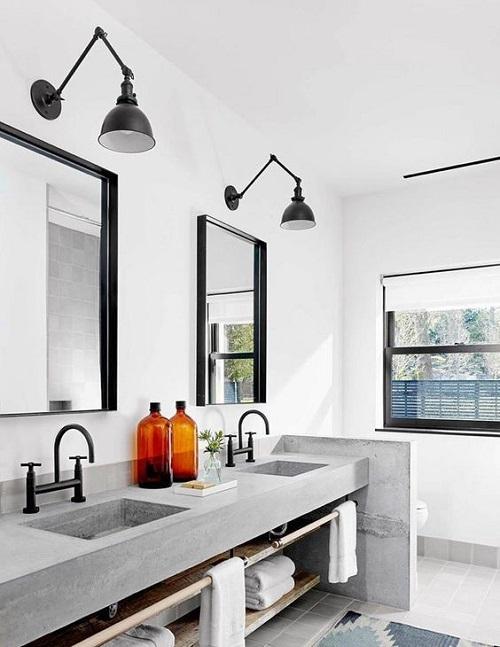 Spot design pour salle de bain